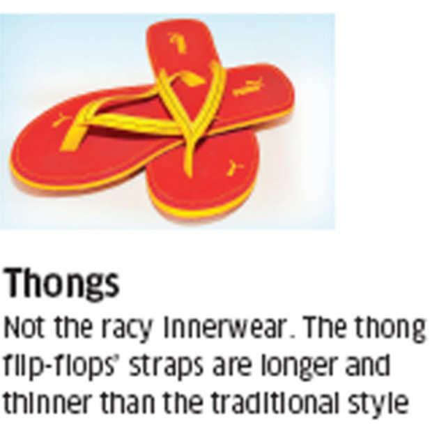 1a605ad157f Thong-style flip-flops results in in sore feet - Should Chappals ...