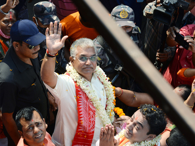 EC notice to West Bengal BJP chief Dilip Ghosh for 'there will be Sitalkuchi in several places' remarks