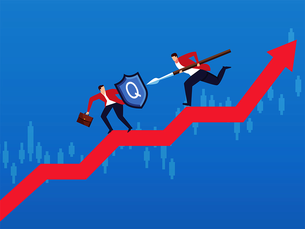 Quality stocks provide cushion against the market fall. But does that justify their valuations?