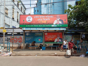 War for visibility: As polls proceed to Kolkata, BJP brings in matador branding, bus-stop advertising, TMC ropes in yellow taxis