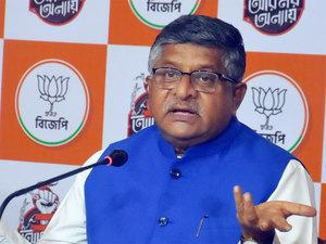 Rahul Gandhi's decision to keep off WB campaign over COVID an alibi: Ravi Shankar Prasad