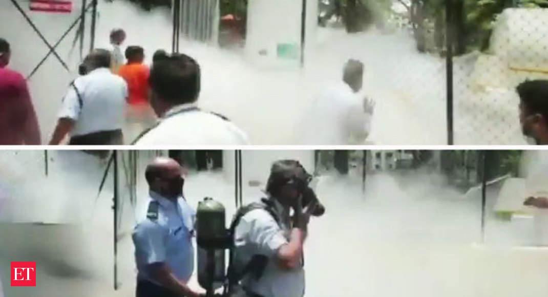 Oxygen tank leaks at Nashik's Zakir Hussain Hospital