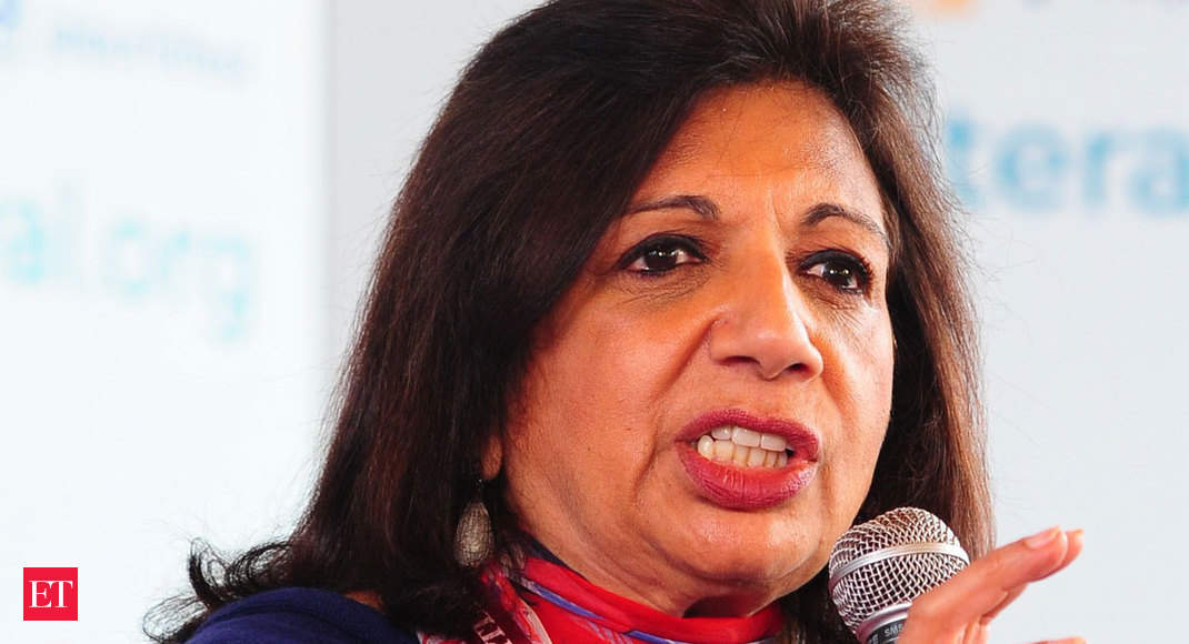 Biocon chief compares COVID vaccination situation in India to arranged marriage
