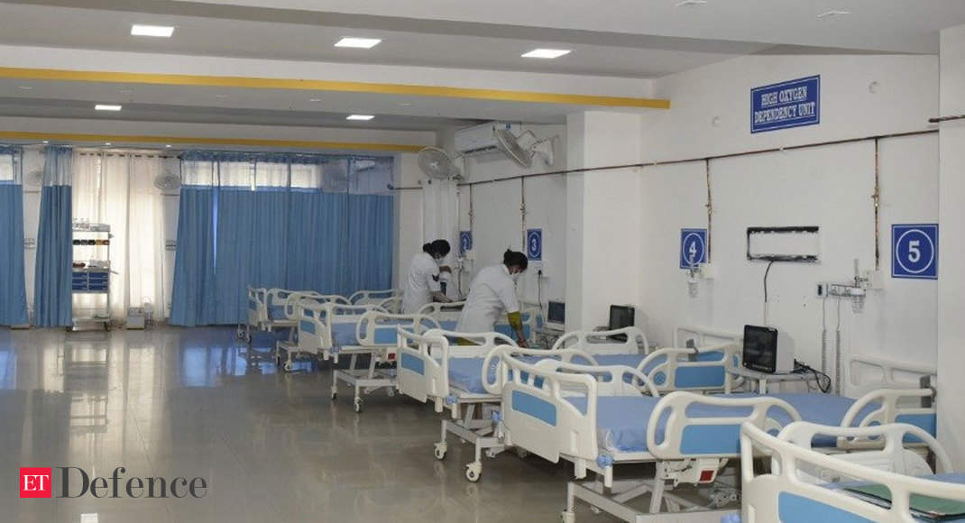 BSF enhances COVID-19 medical care facilities for serving, retired personnel