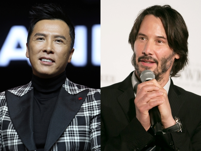 Donnie Yen to team-up with Keanu Reeves in 'John Wick 4' - The Economic  Times
