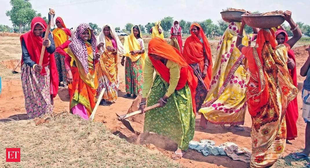 Photo of MGNREGA: Second wave's impact on rural job creation shows up in MGNREGA numbers