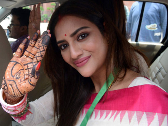 Nusrat Jahan issues statement, says marriage with Nikhil Jain not legal; TMC MP claims financial harassment - The Economic Times