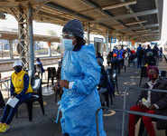 How South Africa's 'Train of Hope' helps the poor