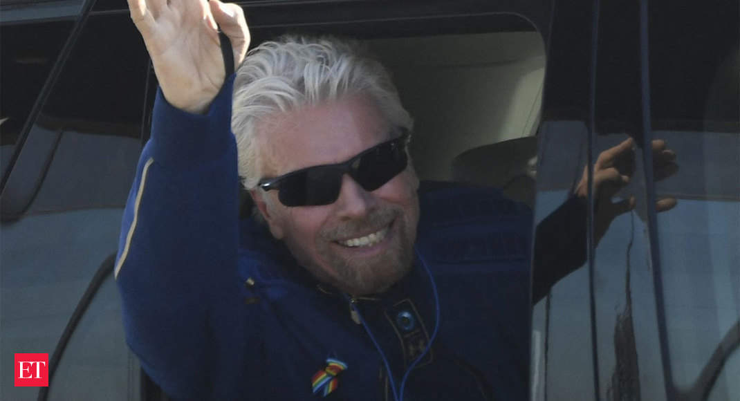 Billionaire Richard Branson lands safely after touching edge of space