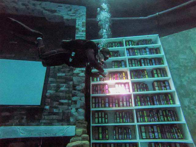 Guinness World Records - Dubai does it again: Now world's deepest pool |  The Economic Times