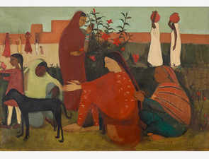 Amrita Sher-Gil's 1938 painting fetches Rs 37.8 cr, becomes 2nd-most expensive work of Indian art