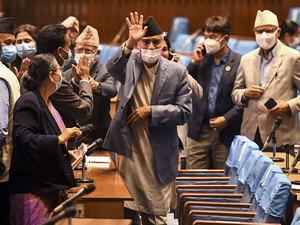 Sher Bahadur Deuba: Nepal's new PM Sher Bahadur Deuba gets confidence vote  in parliament - The Economic Times