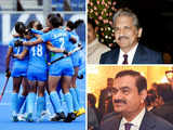 India Inc floored by Indian women's hockey team: Anand Mahindra gives a standing ovation, Gautam Adani calls it a 'Chak De! India' show