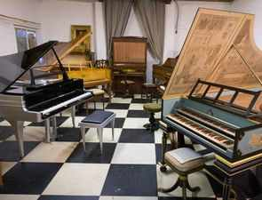 Final chord: Royal piano restorer sells lifetime's collection, instruments could go up for £60,000 each