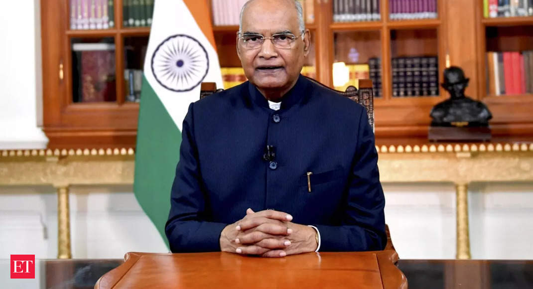 """Parliament is """"temple of country's democracy"""" to debate and decide issues of people's well-being: President Ram Nath Kovind"""