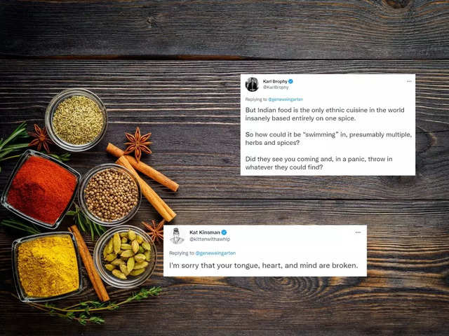 US scribe says Indian cuisine is based on 'one spice', Twitter hits him with truth bomb