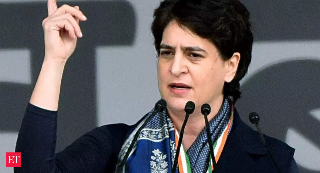 Country supporting farmers in their fight to save agriculture, says Priyanka Gandhi thumbnail