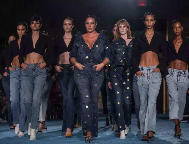 Designer Christian Siriano kicks off New York Fashion Week in colour
