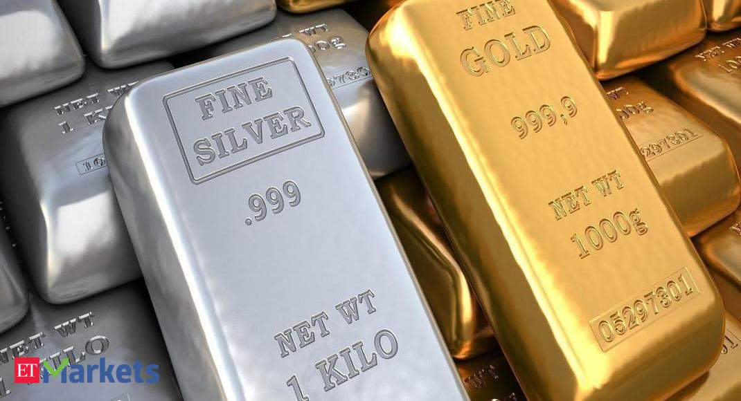 Gold languishes near 2-week low as firm dollar weighs thumbnail
