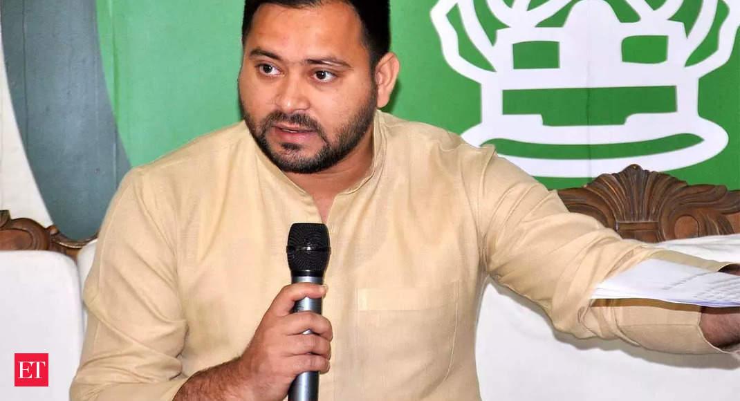 JD(U) accuses Tejashwi Yadav of distributing money to people, violating poll code