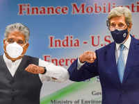 John Kerry launches Climate Action and Finance Mobilisation Dialogue in India