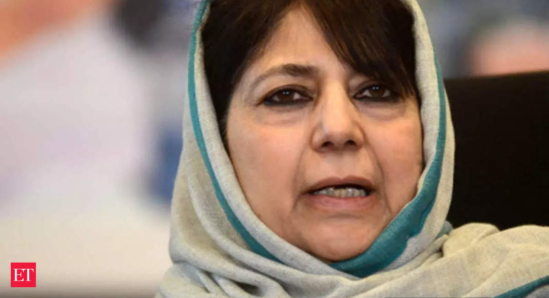 Taliban is in Afghanistan, let us talk about farmers, issues of our country: Mehbooba