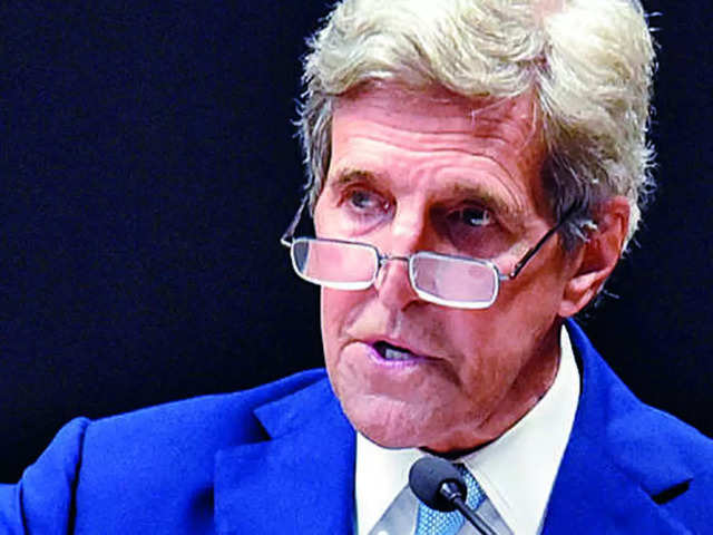 Focus was on 450 GW Renewable Energy: US special climate envoy John Kerry to India