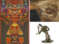 MF Husain's 1972 painting fetches Rs 3.45 cr at auction; artwork by K Laxma Goud makes world record with Rs 1.71 cr sale
