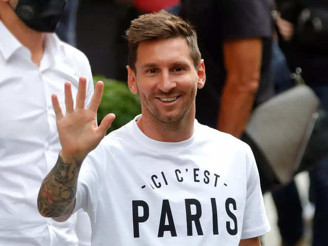 Messi mania takes over Paris: Red-hot demand to see the soccer star in person is boosting city's micro-economy