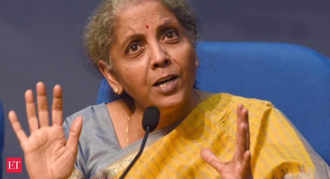 fm nirmala sitharaman: Over Rs 30,000 crore guarantee approved for bad bank, says FM Sitharaman