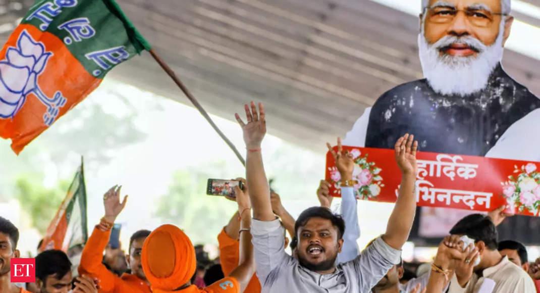 On Modi's birthday, Union minister Paras likens him to God