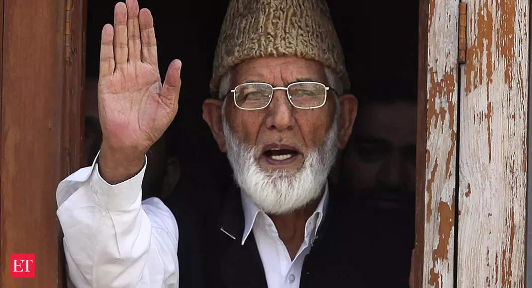 kashmir: Syed Ali Geelani: Islamist and aspiring Pakistani