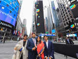 Mathrubootham's wife, sons & pet Shih Tzu all smiles as Freshworks IPO at Nasdaq creates history