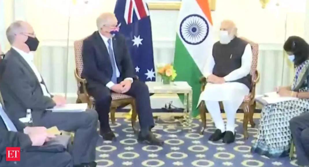 PM Modi, Australian counterpart Scott Morrison hold bilateral talk in Washington DC thumbnail