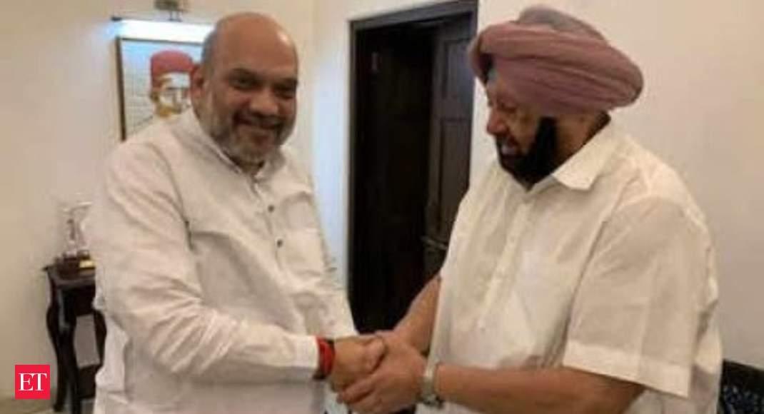 Captain Amarinder Singh meets Amit Shah, discusses farm laws, MSP thumbnail