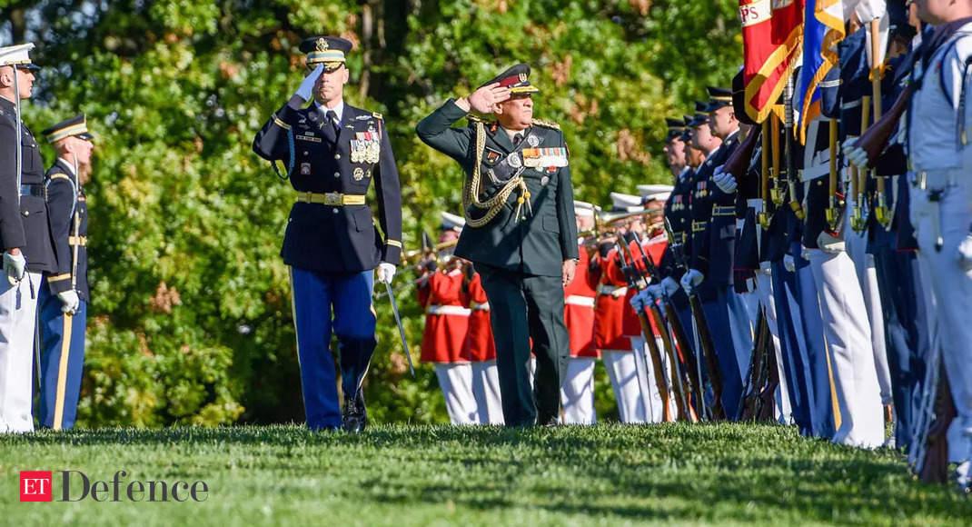 General Bipin Rawat meets General Mark Milley at the Pentagon, discuss ways to ensure regional security thumbnail