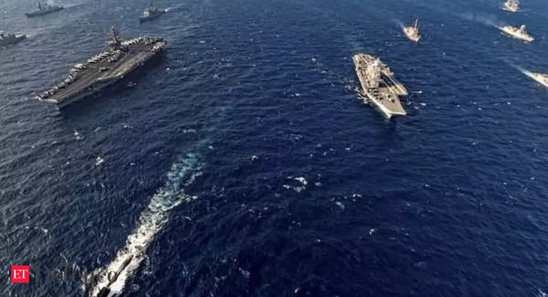 US to deploy nuclear-powered plane provider Carl Vinson for part two of Malabar train thumbnail