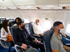 For airlines, the vacant middle seat is a cause of worry