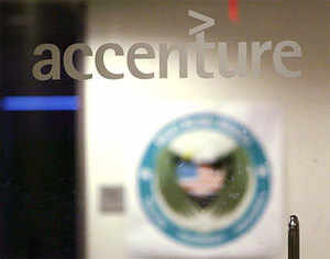 Nokia to shift 800 staff to Accenture - The Economic Times