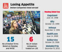 High cost, regulations deter India Inc from listing on Nasdaq, NYSE, LSE