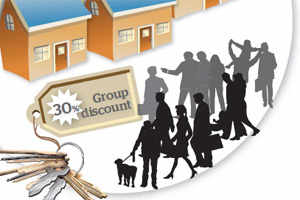 Group buying: A good strategy in real estate sector