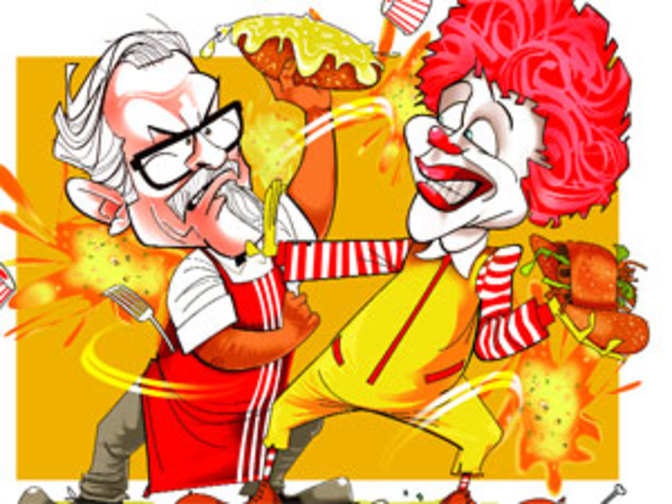 situation of mcdonalds kfc Our business model business model the power of our franchisees, suppliers and employees working together toward a common goal is what makes mcdonald's the world's leading quick-service restaurant brand.