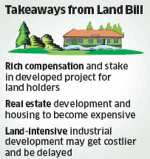 Real-estate sector jittery over new land acquisition law