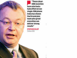 Dual-SIM phones help beat back competition in India: Stephen Elop, Nokia CEO