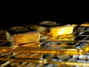 Gold touches six-week low as firm dollar dims appeal