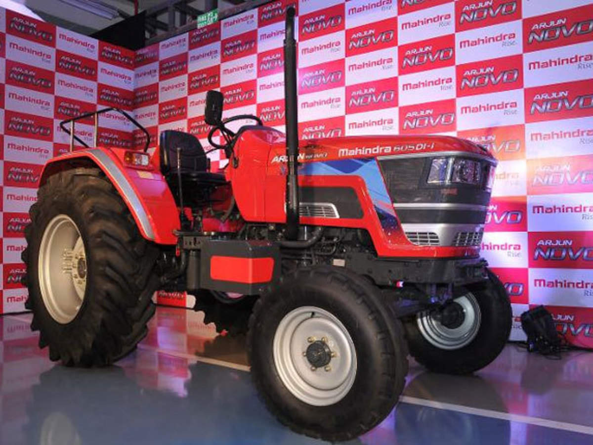 Mahindra tractor sales down 10.88% to 40,262 units in October - The Economic Times