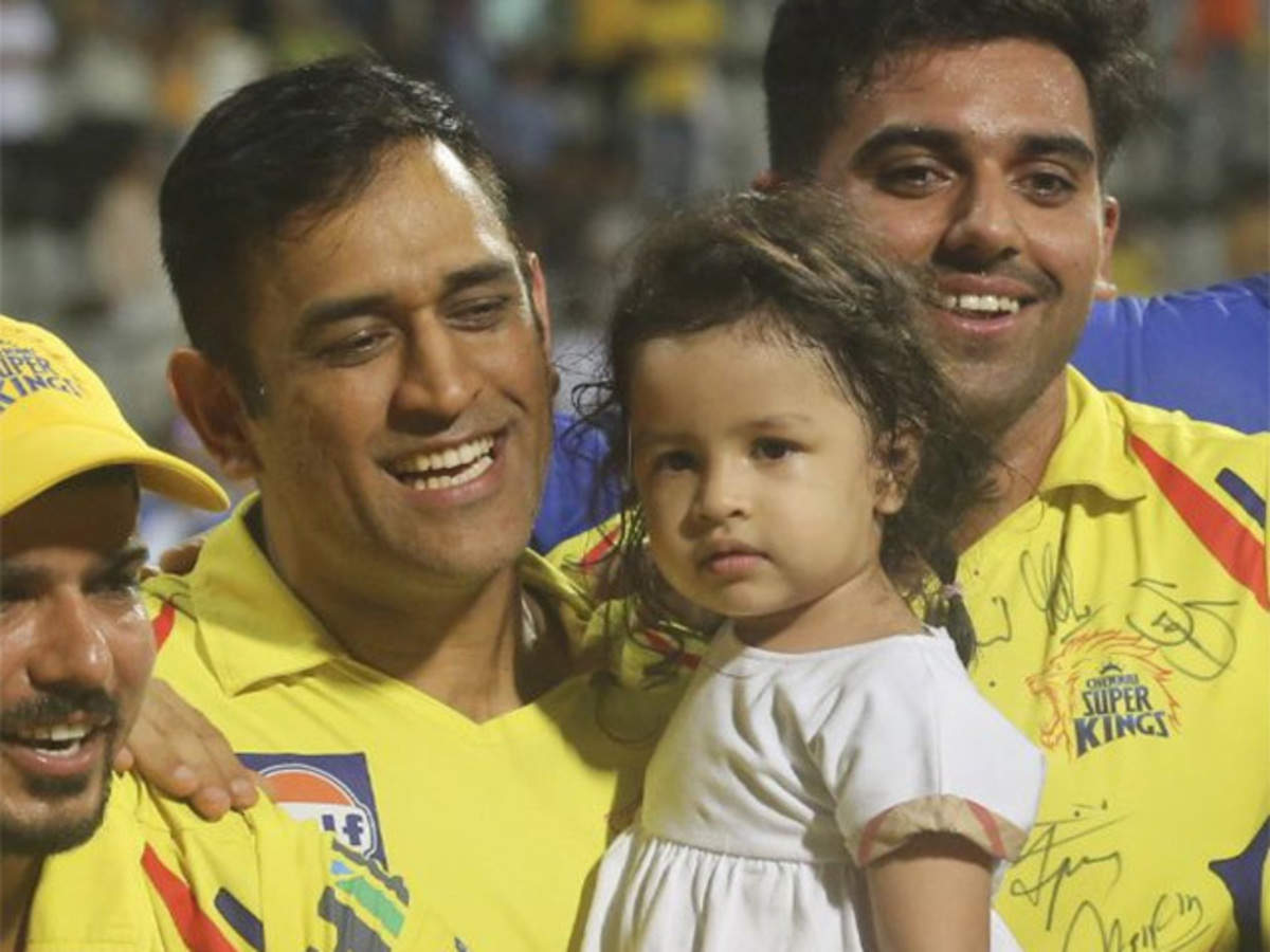Ziva Dhoni: Daughter Ziva changed me as a person: MS Dhoni - The Economic  Times