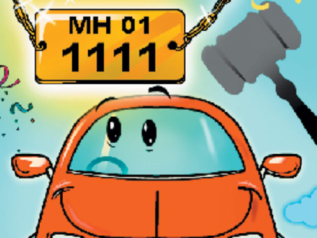 Craze For Fancy Number Plates Drives E Auction Through Roof The Economic Times