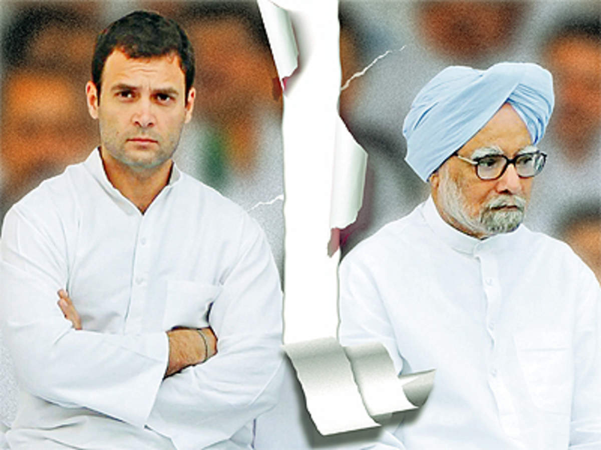 Rahul Gandhi & Manmohan Singh's fractious equation is bad news for ...