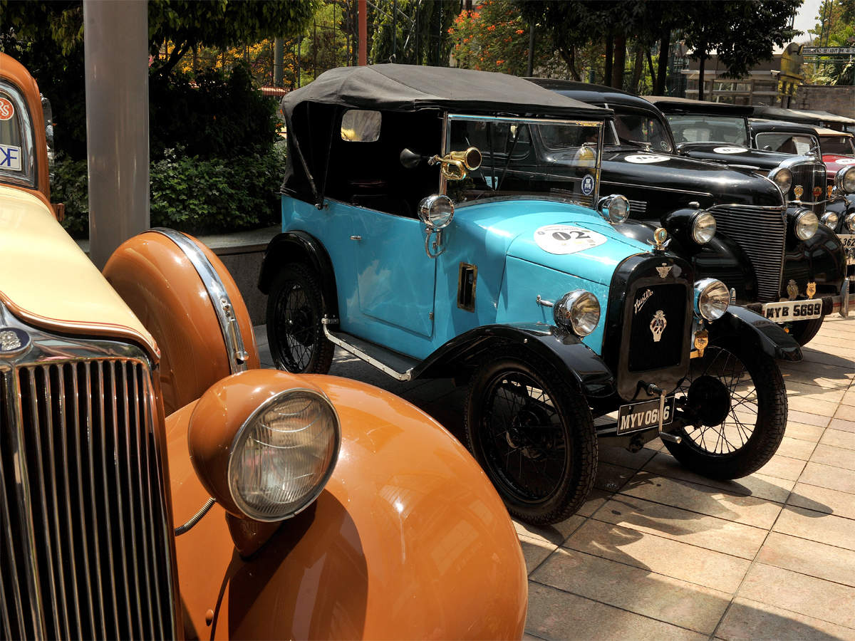 Regulation For Vintage Vehicles Soon Number Plates To Display Va The Economic Times